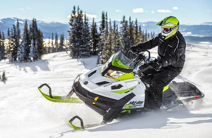 Ski-Doo Mountain Snowmobile
