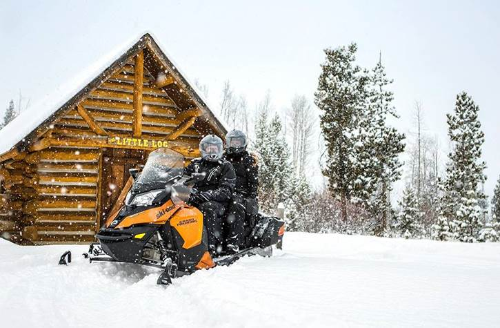 Ski-Doo Touring Snowmobile