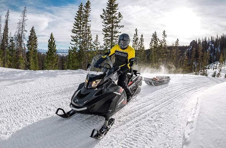 Ski-Doo Trail Snowmobile