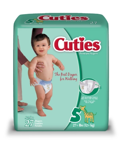 Baby Diaper Cuties® Size 5 - Unsex - Child