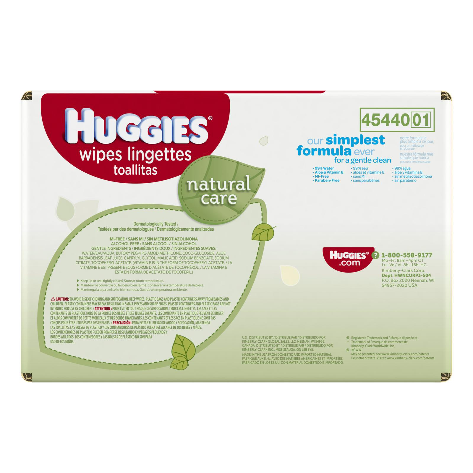 Huggies® Natural Care® Wipes - Child