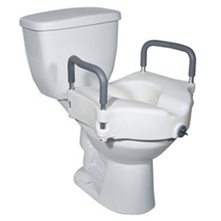 Locking Raised Toilet Seat - DME