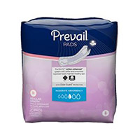 Bladder Control Pad Prevail® 9.25 Inch Length