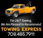 For 24/7 Towing, We Are Pleased to Recommend Towing Express 708.485.7911
