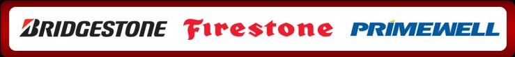 We proudly carry products by Bridgestone, Firestone, and Primewell.