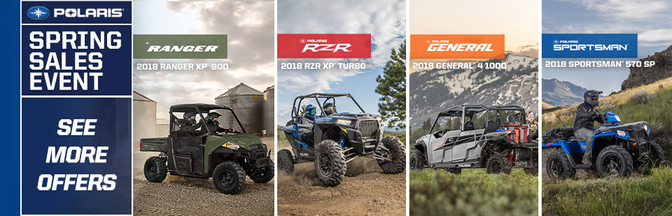 Polaris off-road Spring Special