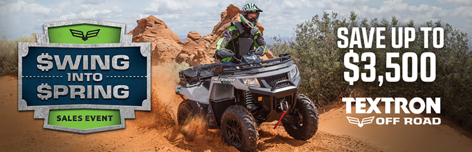 Arctic Cat off-road ATVs