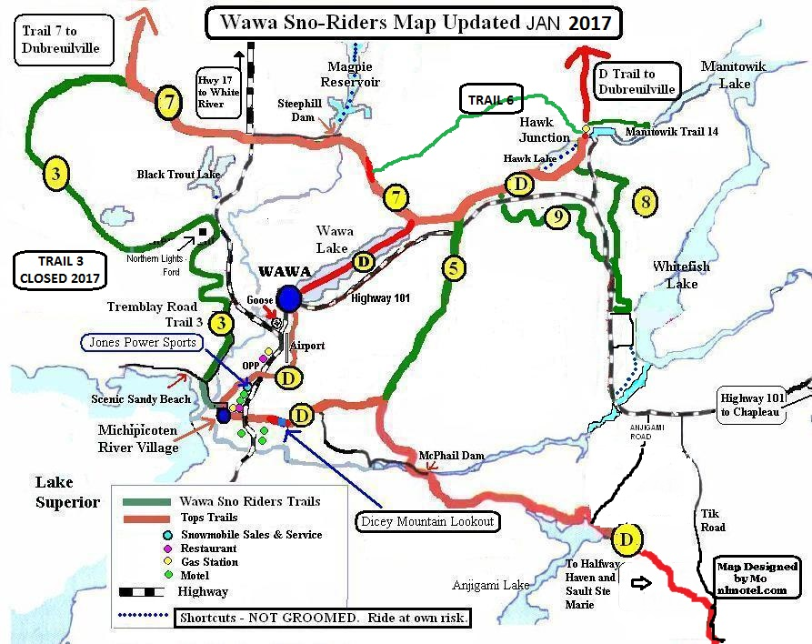TRAIL MAP 20173341