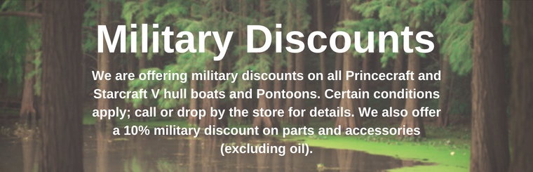 Military Discounts Available
