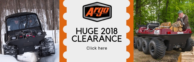 Huge 2018 ARGO Clearance