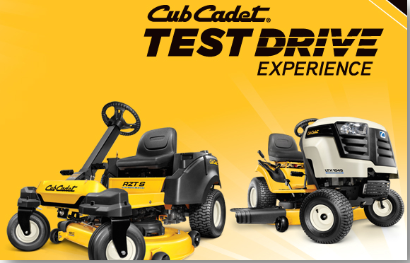 Cub Cadet Test Drive Experience
