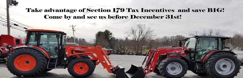 2018 Section 179 Tax Incentive