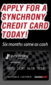 Apply for a Synchrony credit card today!