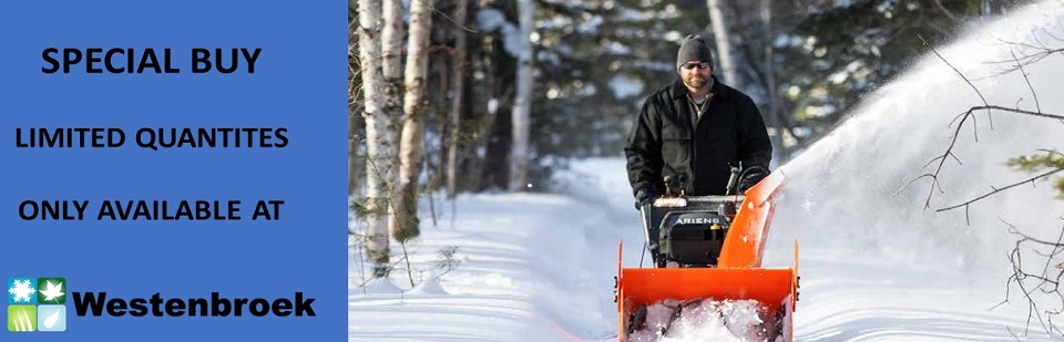 Ariens Snow Blowers On Sale at Westenbroek Mower