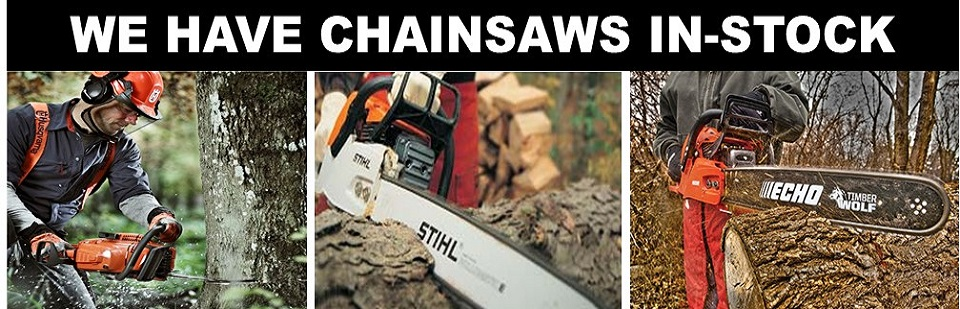 Hurrican Irma - Chainsaws in-stock