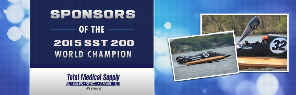 Total Medical Supply: Sponsors of the 2015 SST 200 World Champion