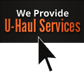 We Provide U-Haul Services