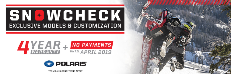 Polaris 2019 Snowcheck Sale