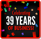 Celebrating 39 Years of Business