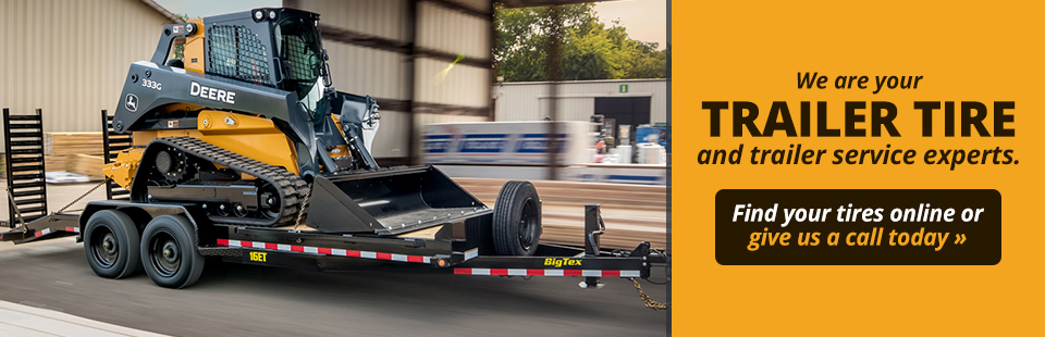 We are your trailer tire and trailer service experts. Find your tires online or give us a call today.