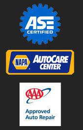 ASE Certified | Napa AutoCare Center | AAA Approved Auto Repair