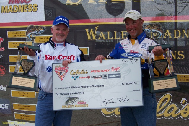 Koester and Rhodes Capture 2nd Consecutive Walleye Madness Tournament