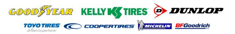 We carry products from Goodyear, Kelly, Dunlop, Toyo, Cooper, Michelin®, and BFGoodrich®.