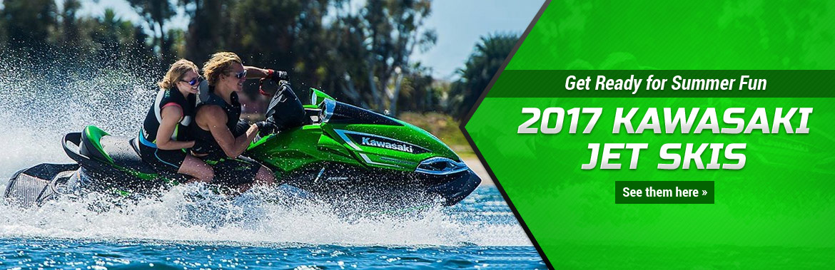 2017 Kawasaki Jet Skis: Click here to view the models.
