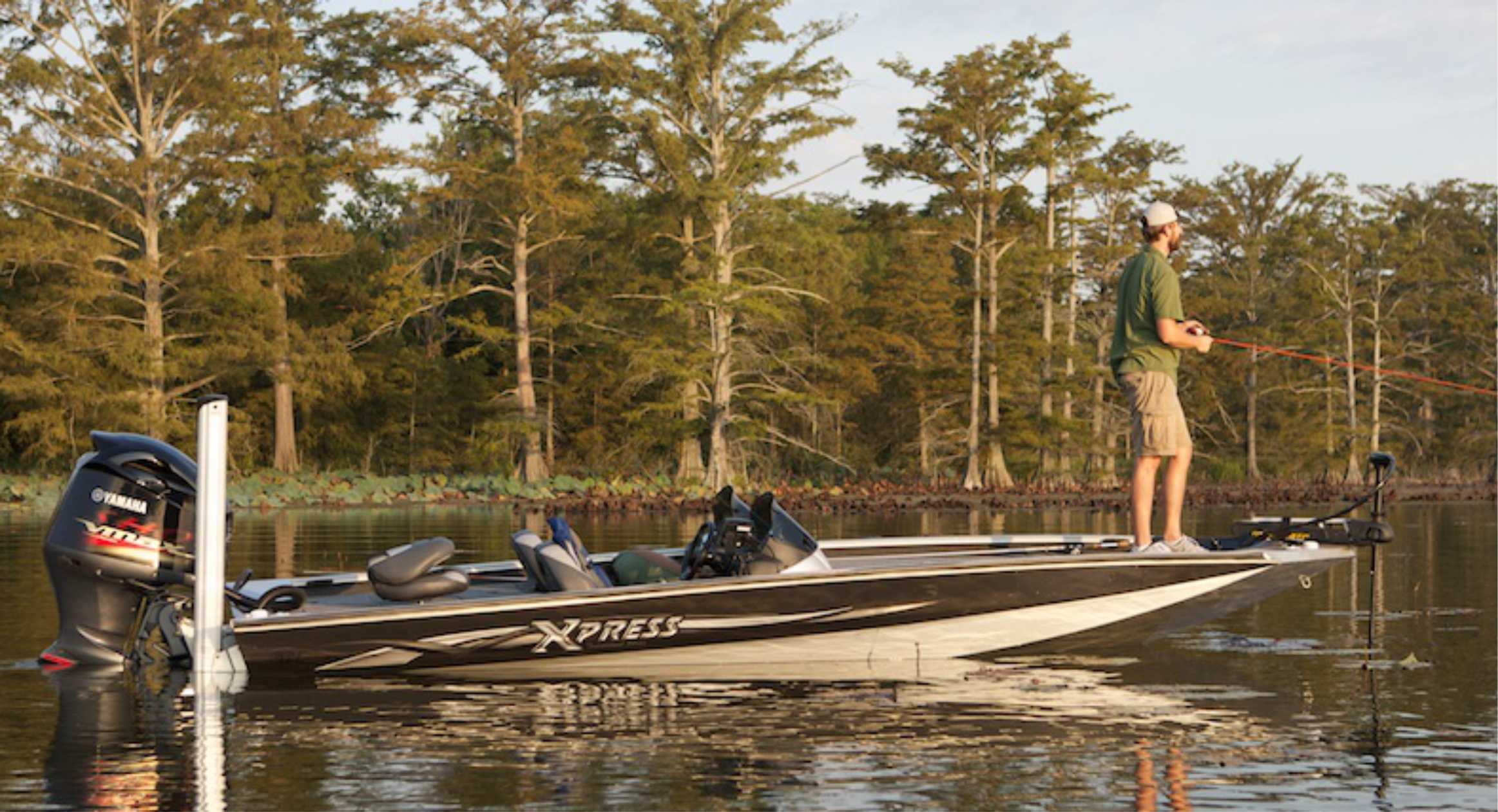 Xpress x21 Bass Boat Fishing Boat