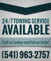 24/7 Towing Service Available