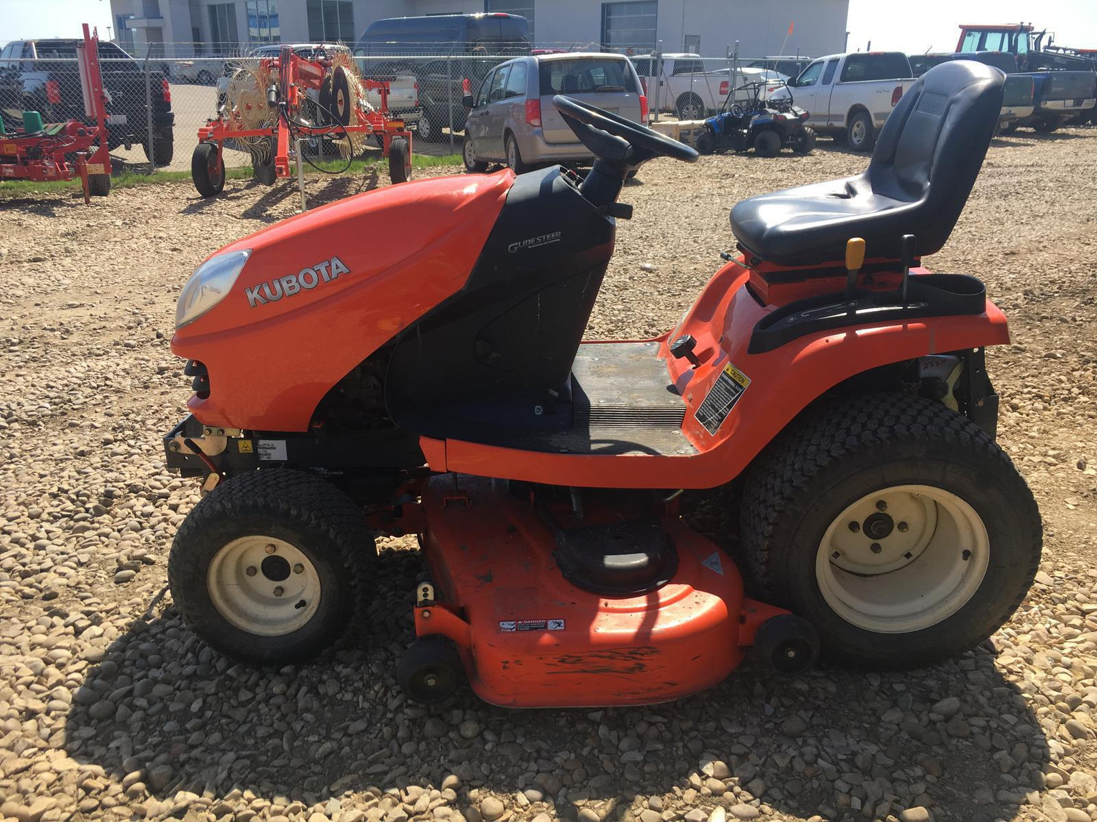 2007 Kubota Gr2100 Lawn Tractor For Sale In St Paul Ab St Paul St Paul Ab 780 645 4639
