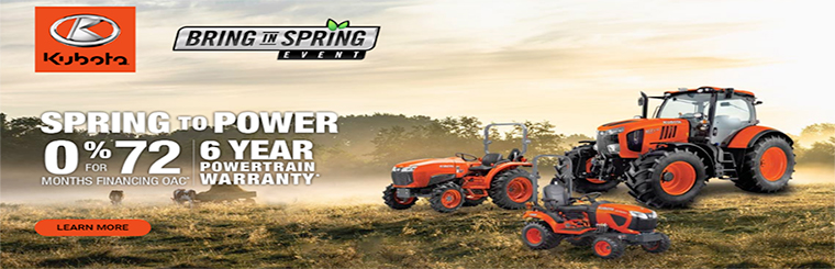Spring to Power 0% for 72 months financing OAC/6 Year Powertrain Warranty