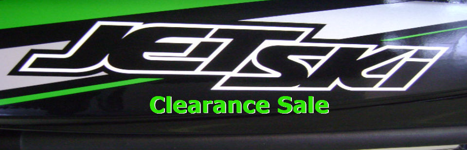 Save now on in stock Jet Skis. Now on clearance.