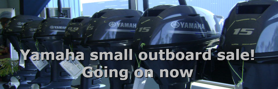 All in stock Yamaha outboards on sale now.