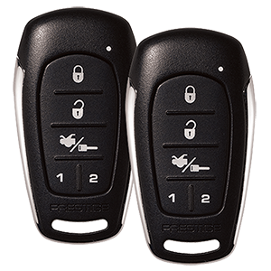 APS687E - One-Way Remote Start and Keyless Entry System with Up to 2,500 feet Operating Range