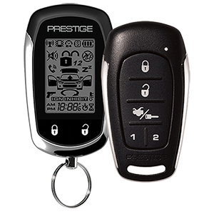 APS997E - Two-Way LCD Command Confirming Remote Start / Keyless Entry and Security System with Up to 2,500 feet Operating Range