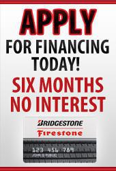 Apply for Financing today. Six Months No Interest.