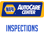 We are a NAPA AutoCare Center. We do provincial inspections.