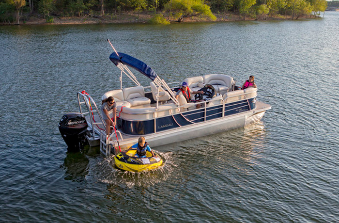 Island Breeze Cruise Pontoons