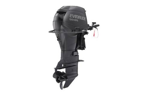 Studio shot of a Evinrude Pontoon series.