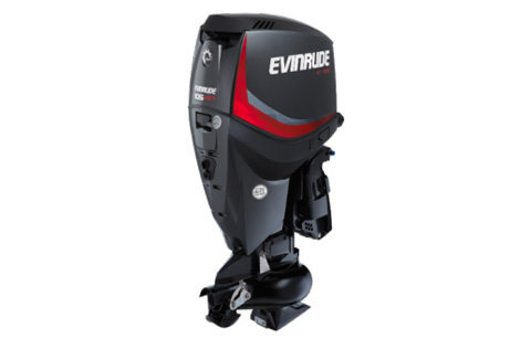 Studio shot of a Evinrude Jet series.