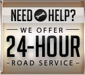 We Offer 24-Hour Road Service