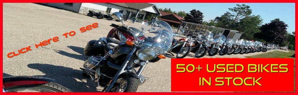 Miller's US 31 Sales - 50+ cleanlow mile used motorcycles in