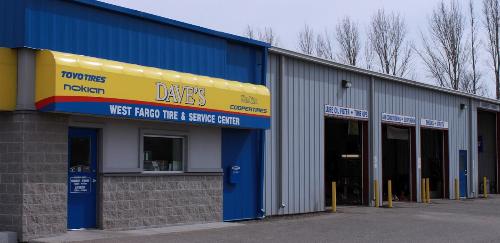 Car Rental Fargo Nd: Dave's Tire & Service, West