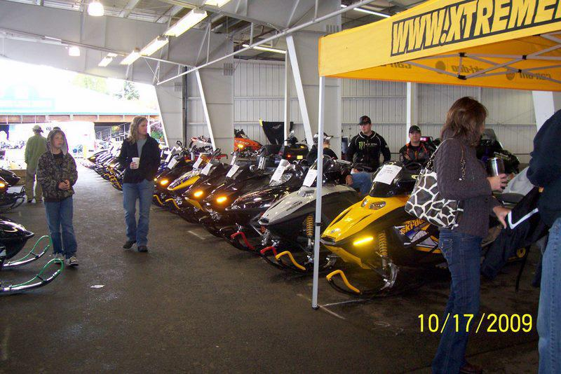 Puyallup Snow Show Sleds