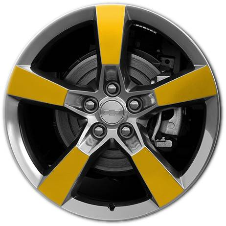 Wheel 5443 wheel covers unlimited camaro wheel 5433 yellow