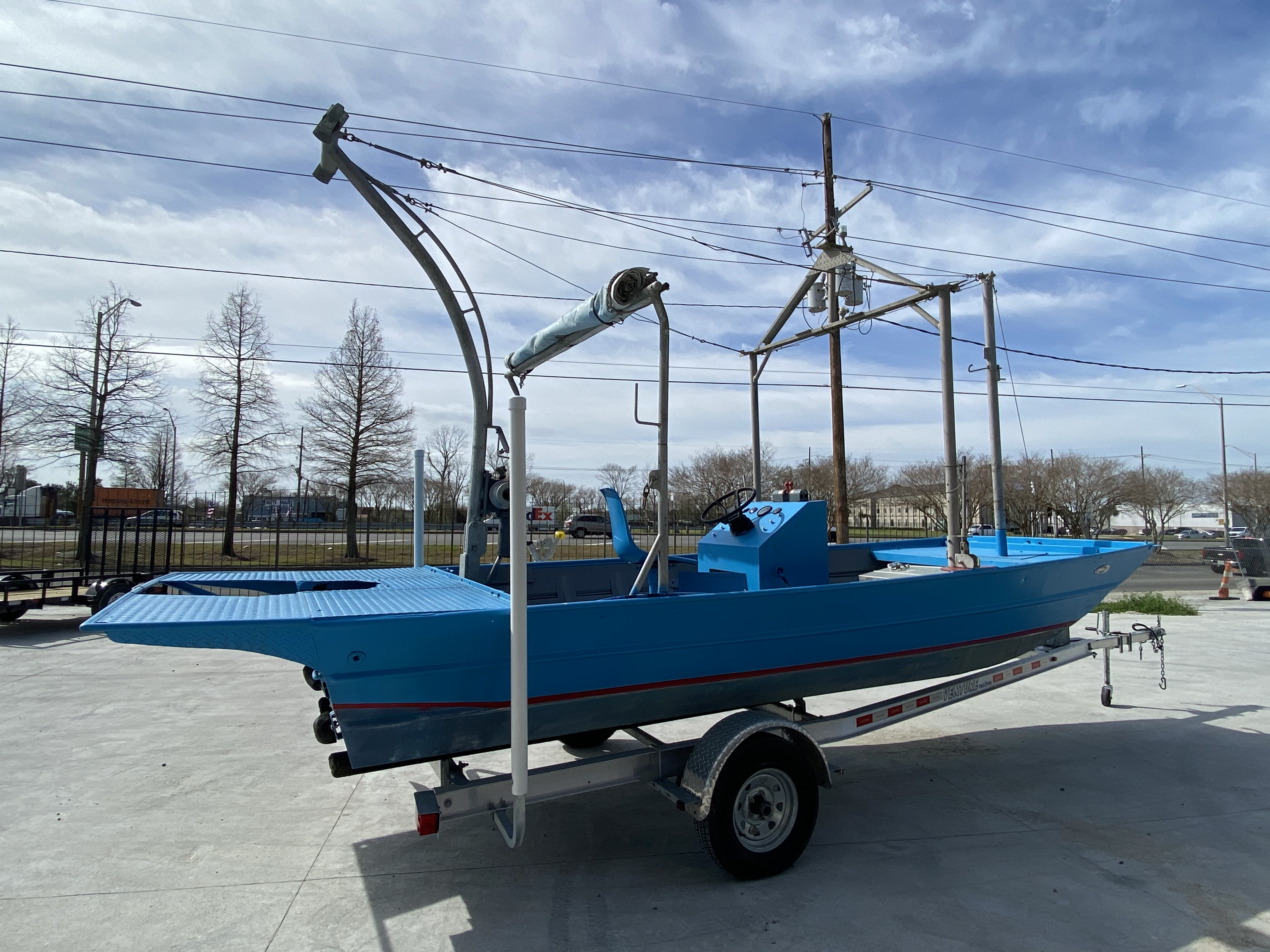 New  1978 Aluminum Boats Flats Boat in Marrero, Louisiana