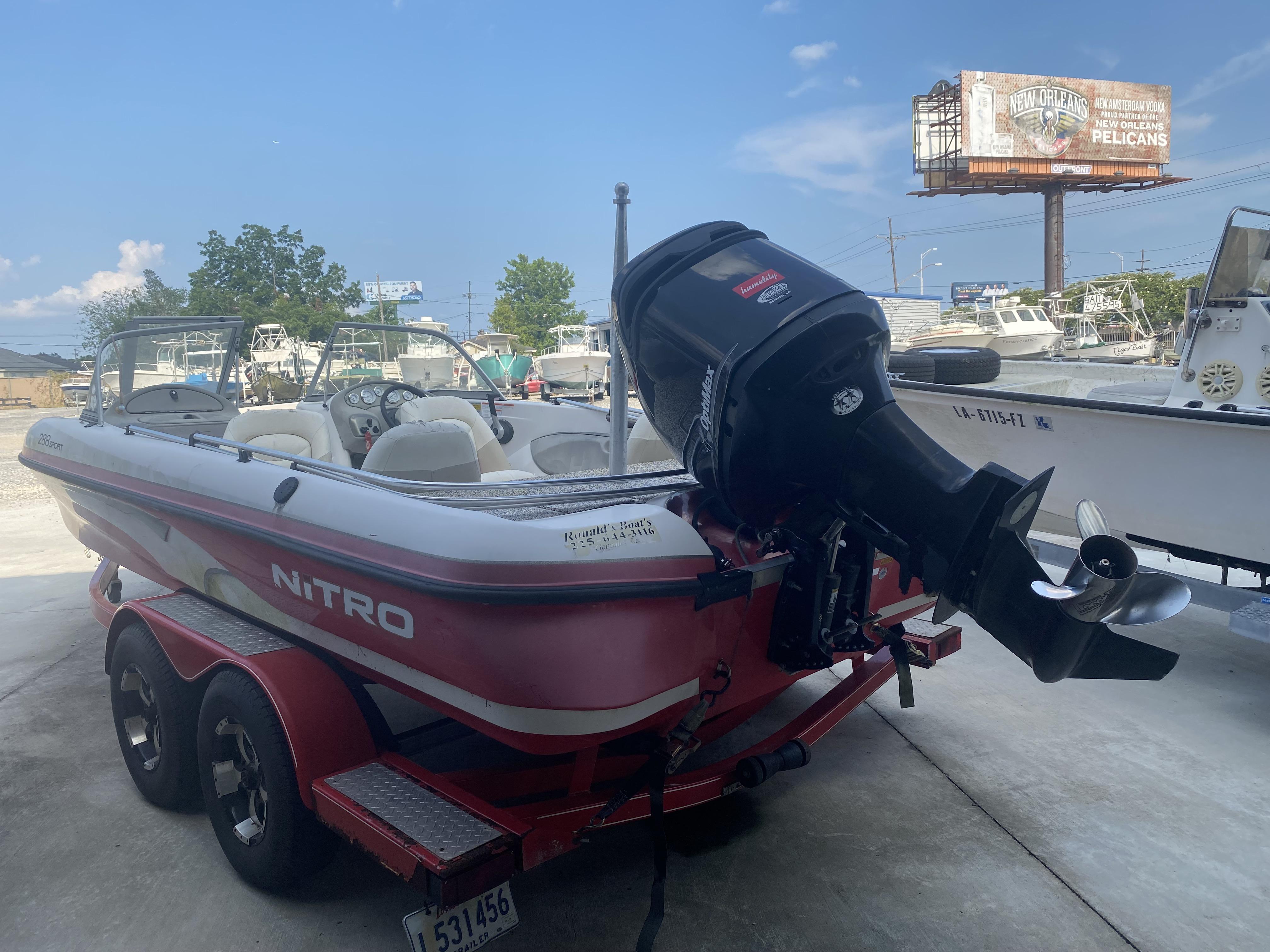 New  2007 Nitro Boats Fish and Ski in Marrero, Louisiana