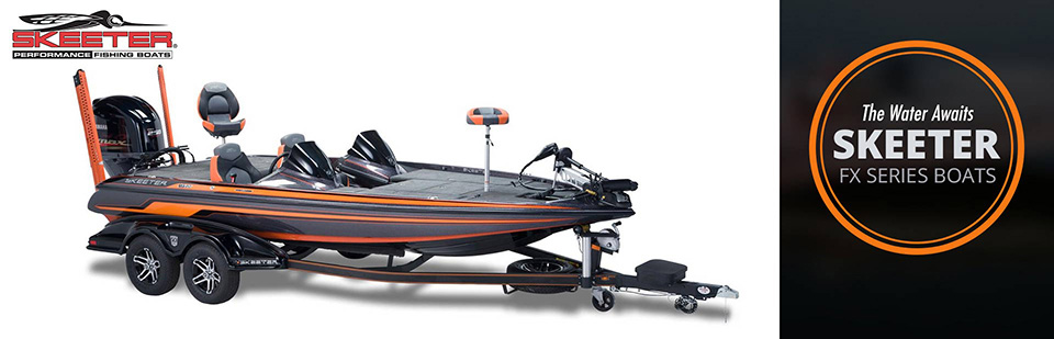 Skeeter FX Series Boats: Click here to view the models.