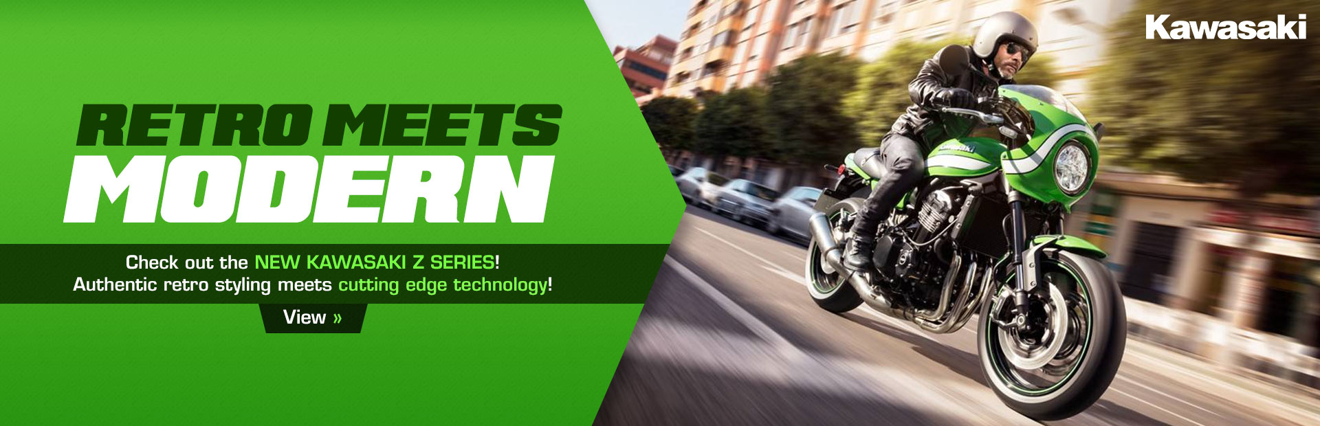 Check out the new Kawasaki Z Series!